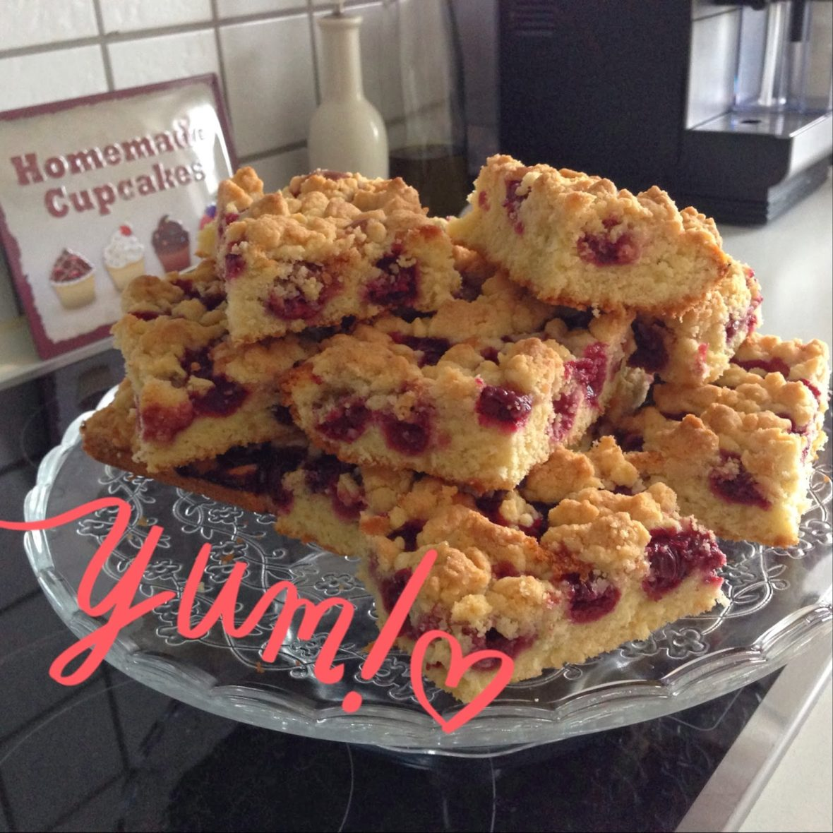 Schnell Einfach Und Lecker Der Rucki Zucki Kirsch Streusel Kuchen