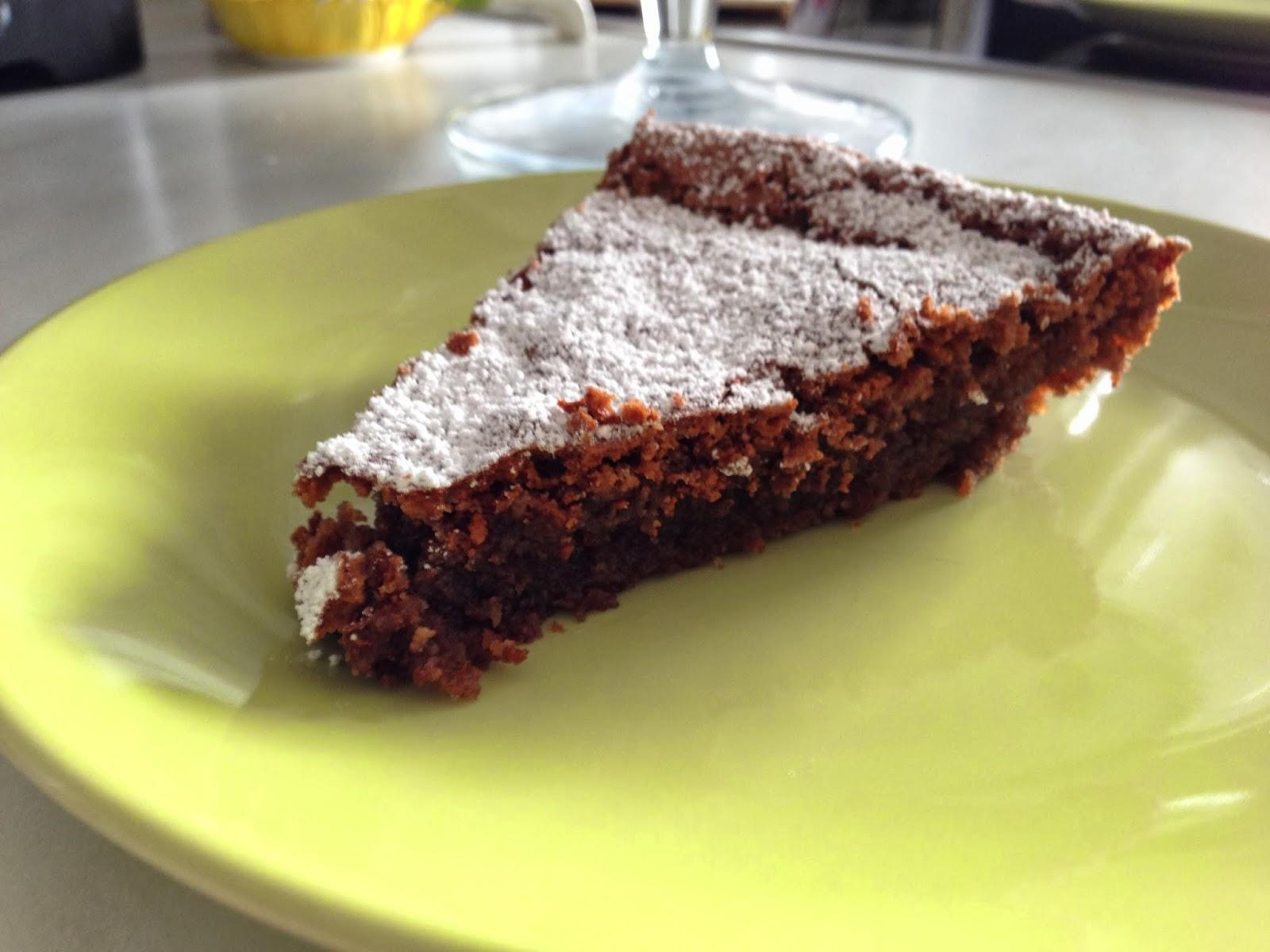 Schneller Und Einfacher Schokoladenkuchen Oder Ein Traum In Braun Mit Kinderaugen