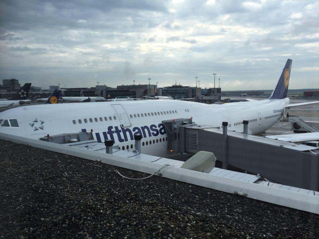 Flug nach Amerika mit der Boeing 747
