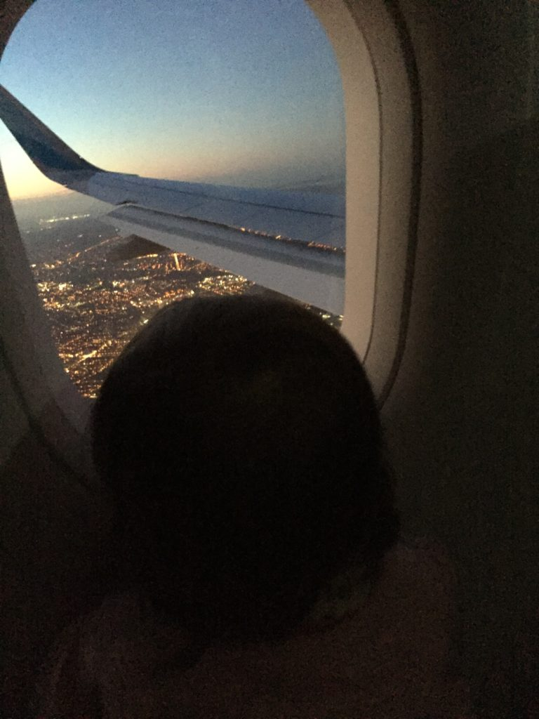 Spannend für Kinder: Der Landeanflug