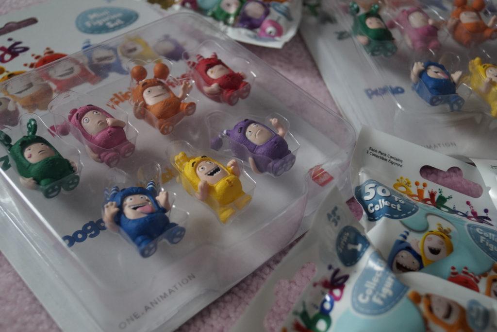 Zum Sammeln und Tauschen: Die Mini Oddbods Figuren