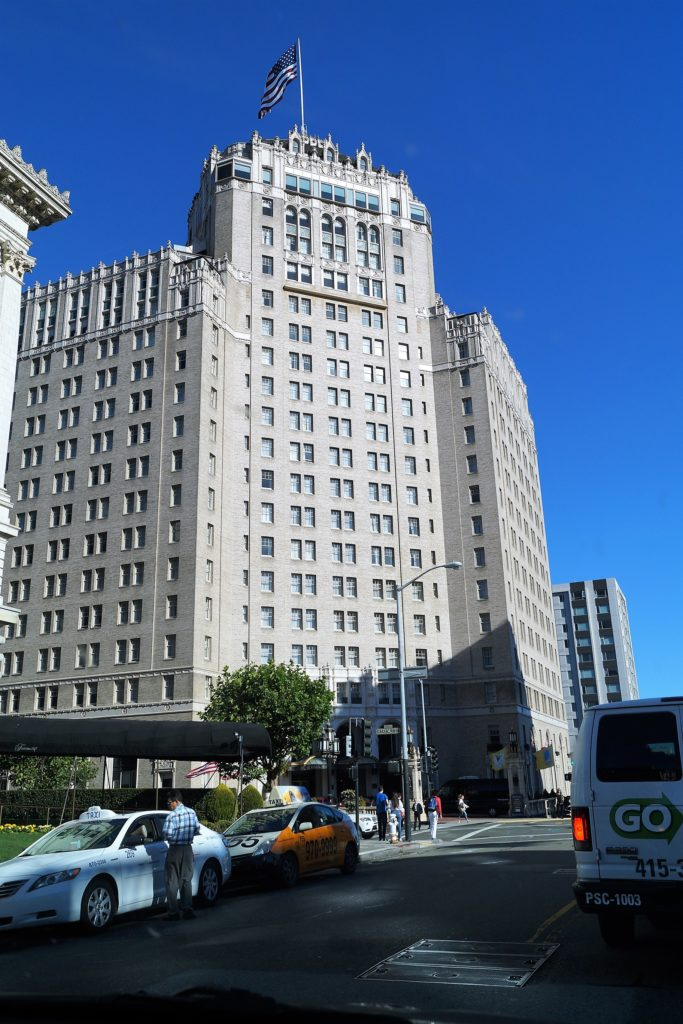 Das InterContinental Mark Hopkins Hotel in San Francisco.