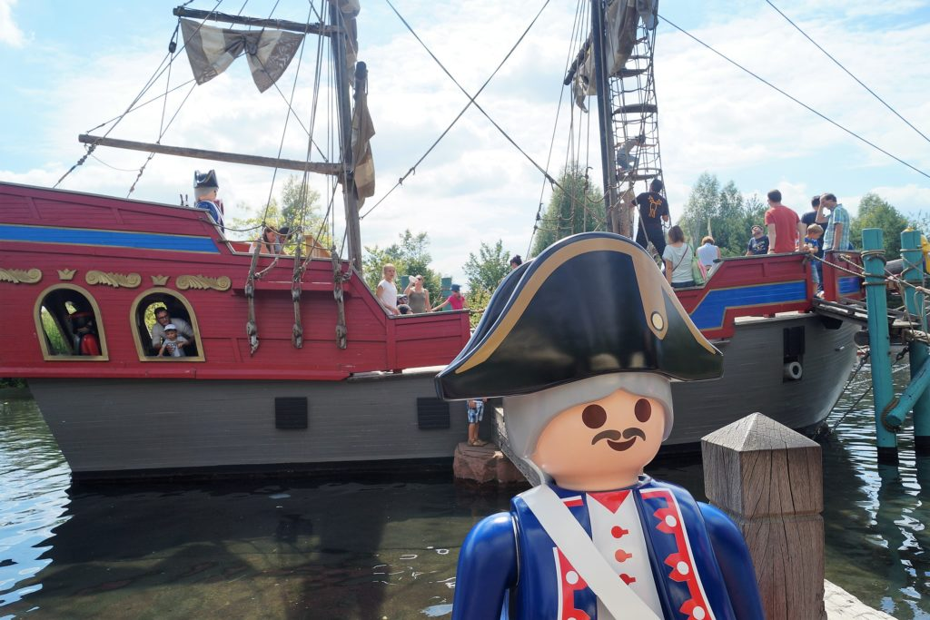 das playmobil piratenschiff im playmobil funpark