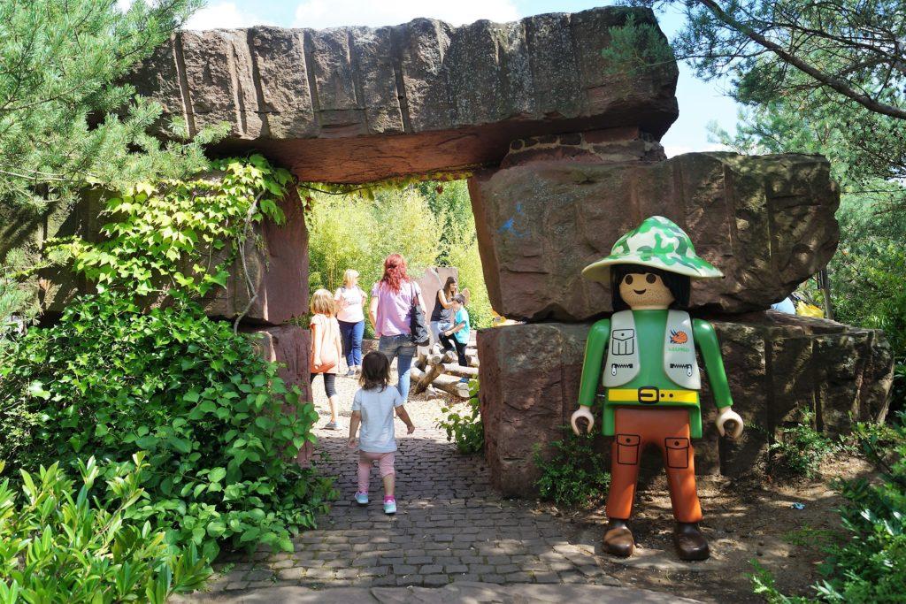 Auf Entdeckungstour durch die Playmobil Dionwelt in Zirndorf.
