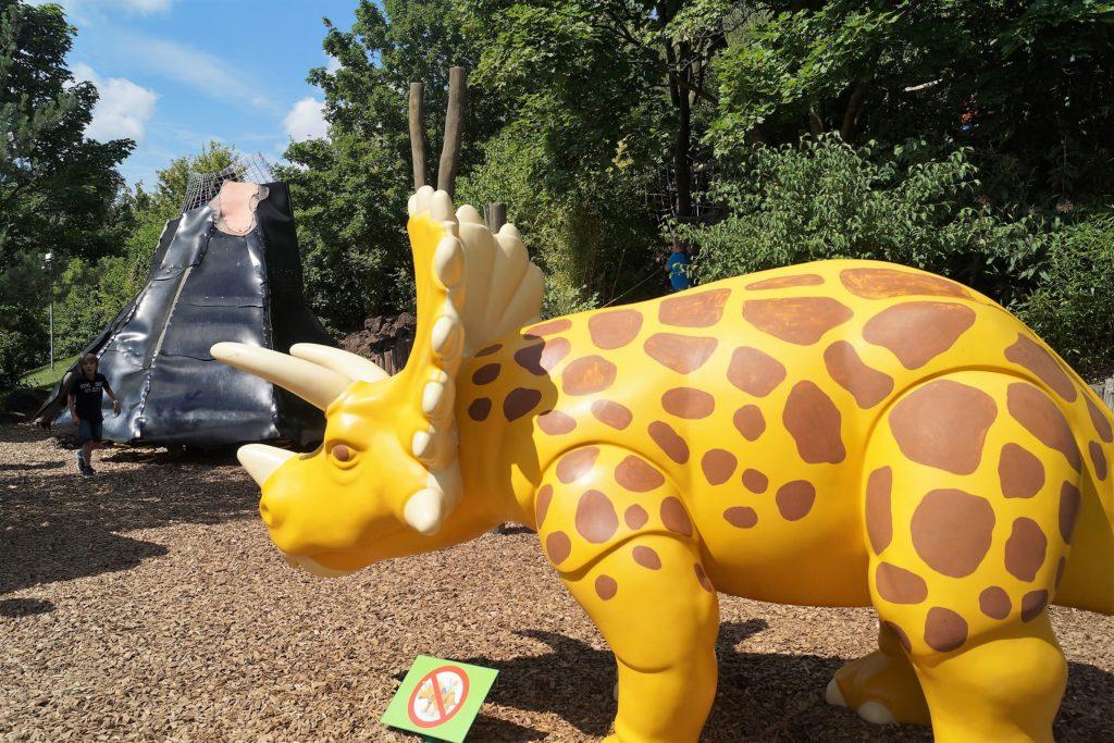 große playmobil dinosaurier im playmobil funpark