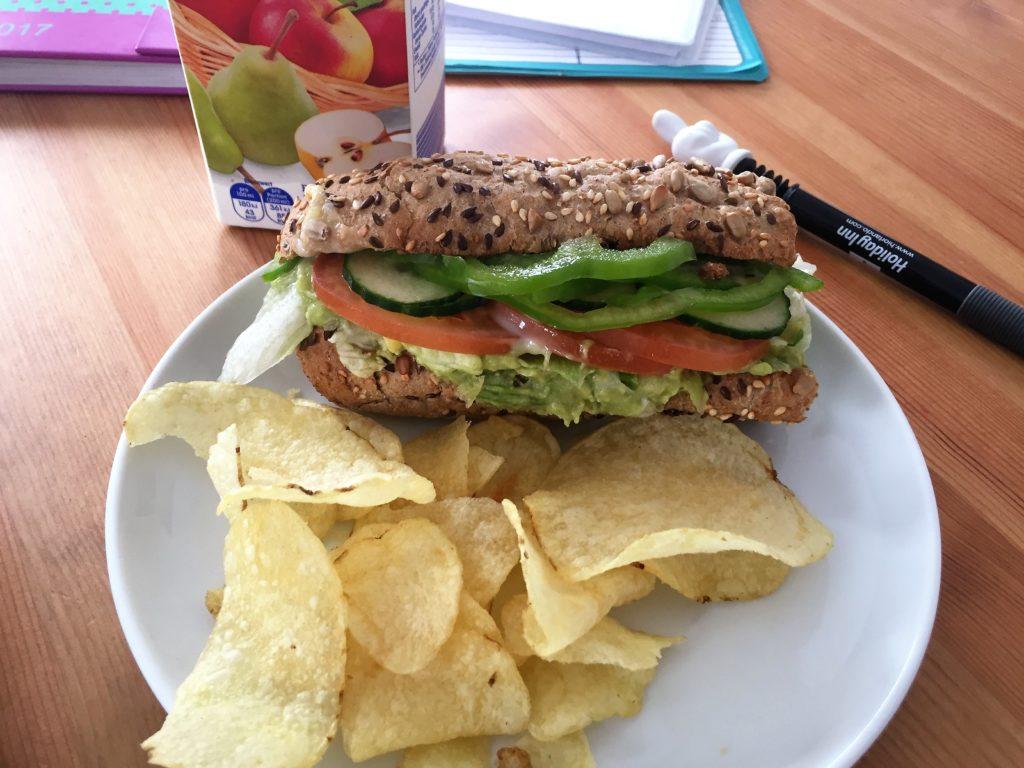 leckeres Sandwich von Subways