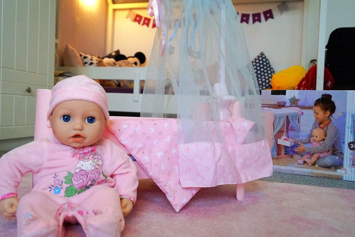 Puppen & Zubehör Kleidung & Accessoires ZAPF CREATION BABY ANNABELL SWEET DREAMS BETT PUPPENBETT NEU