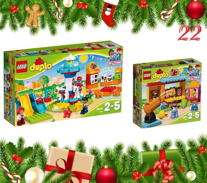 T rchen 22 zwei lego duplo sets mit kinderaugen - Adventskalender duplo ...