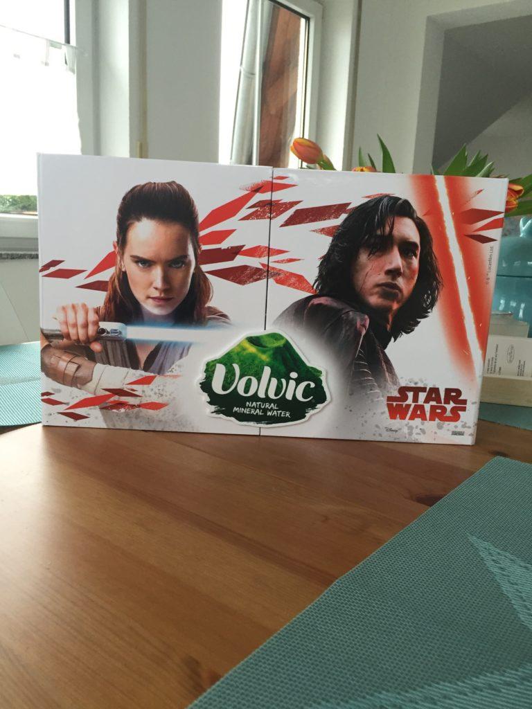 Star Wars Maskottchenflaschen von Volvic