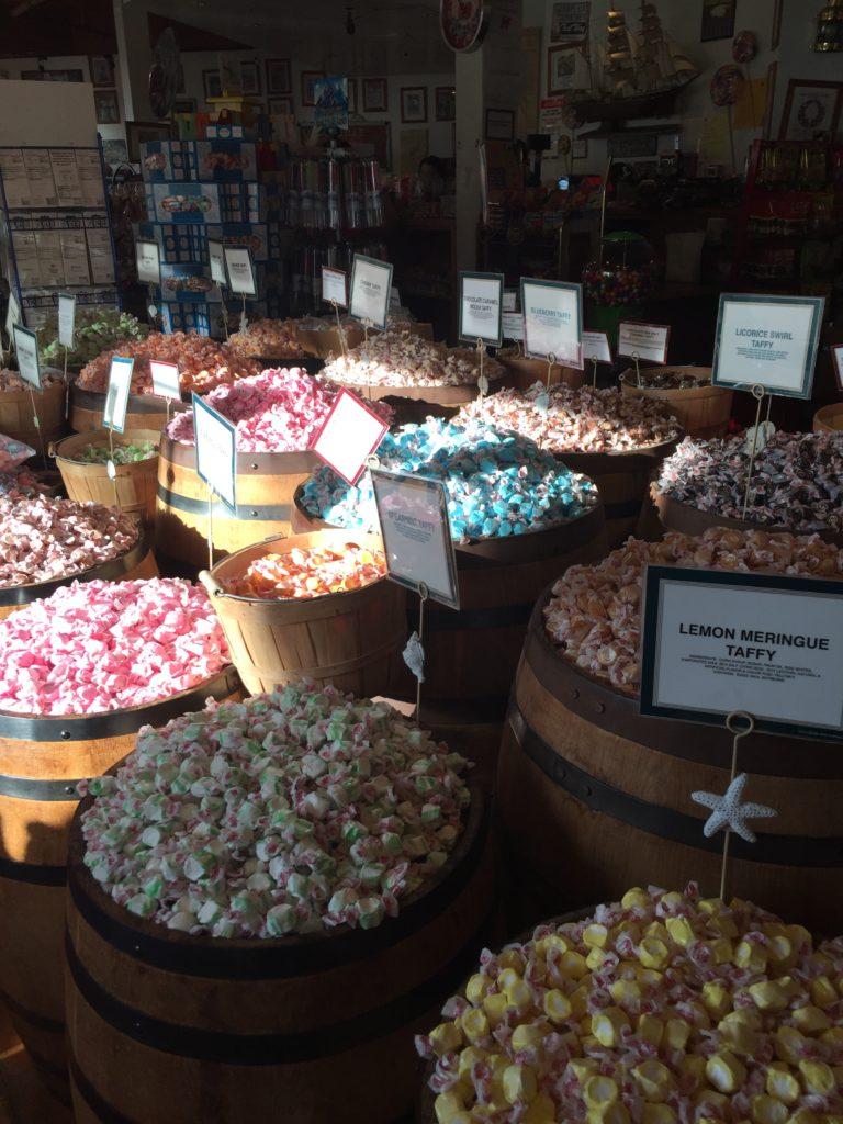 leckere süßigkeiten gibt es bei candy baron am pier 39