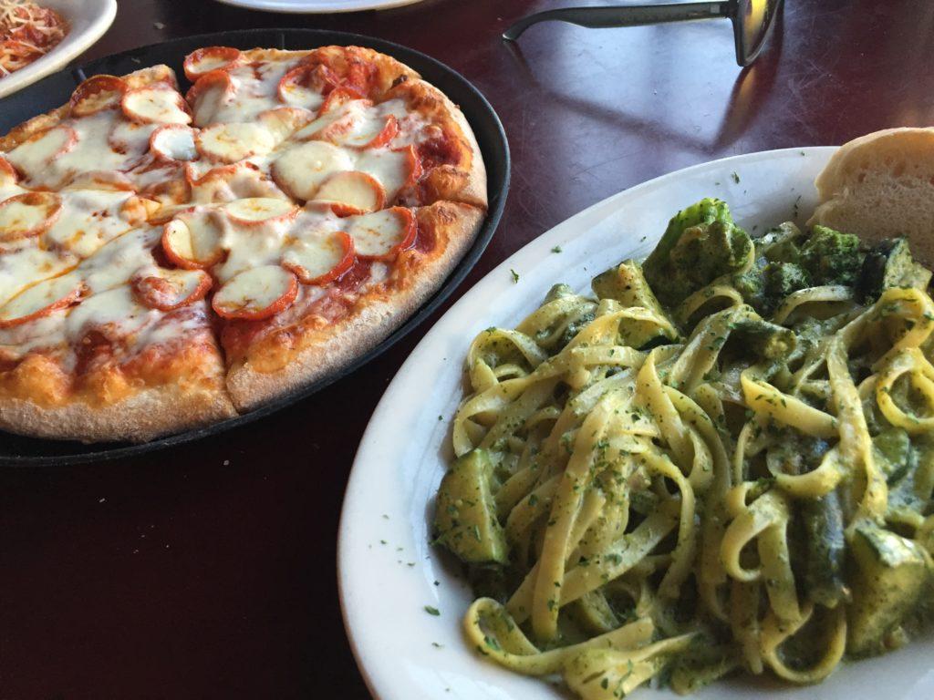 leckeres essen bei luigi´s pizzeria