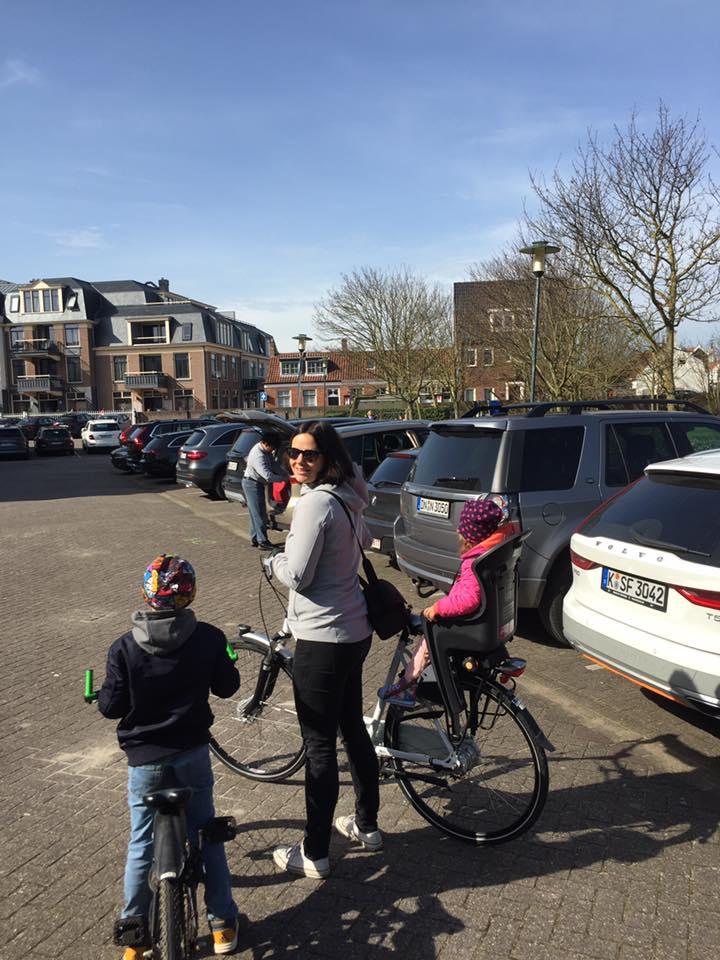 Familienfahrradtour mit Fahrrädern vom Badhotel Domburg