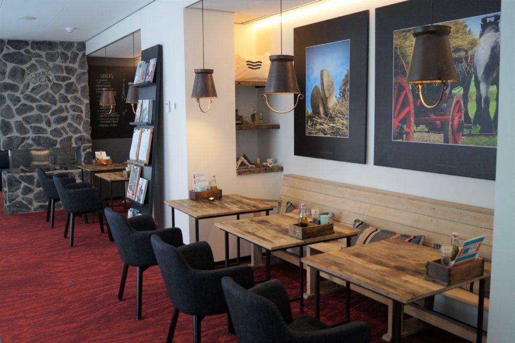 Badhotel Domburg: Blick in das Spa Café
