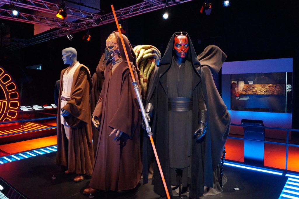 Darth Maul auf der Star Wars Identities Ausstellung in Brüssel