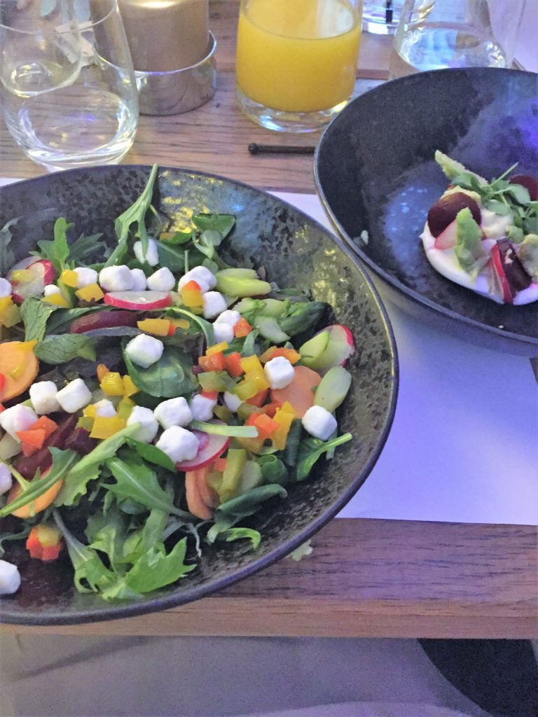 Gesund und lecker präsentiert sich die Küche vom Badhotel Domburg