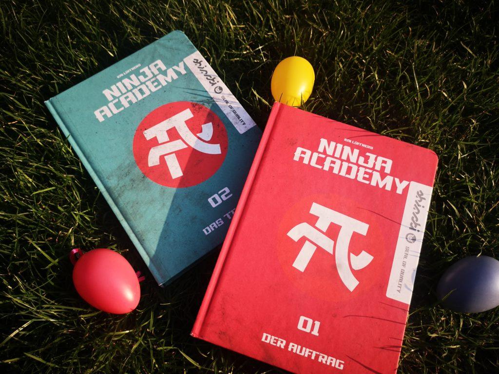 Band 1 und 2 von Ninja Academy vom migo Verlag