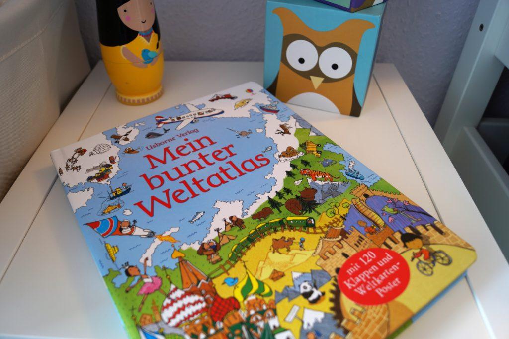 Mein bunter Weltatlas vom Usborne Verlag