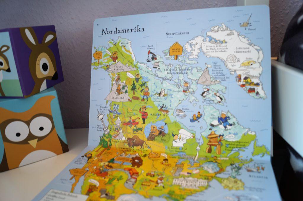 Bücher für Kinder: Mein bunter Weltatlas