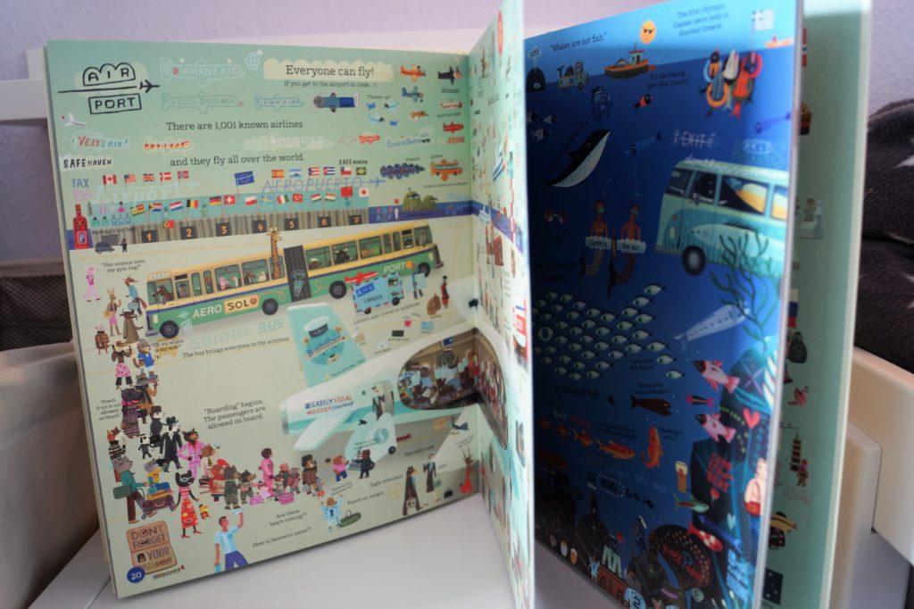 Englische Bücher für Kinder: Show & Tell me the World vom Kleine Gestalten Verlag
