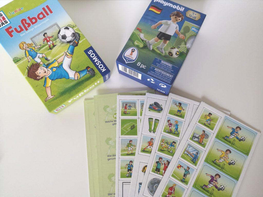 Sich Gemeinsam Mit Kindern Auf Die Fussball Weltmeisterschaft