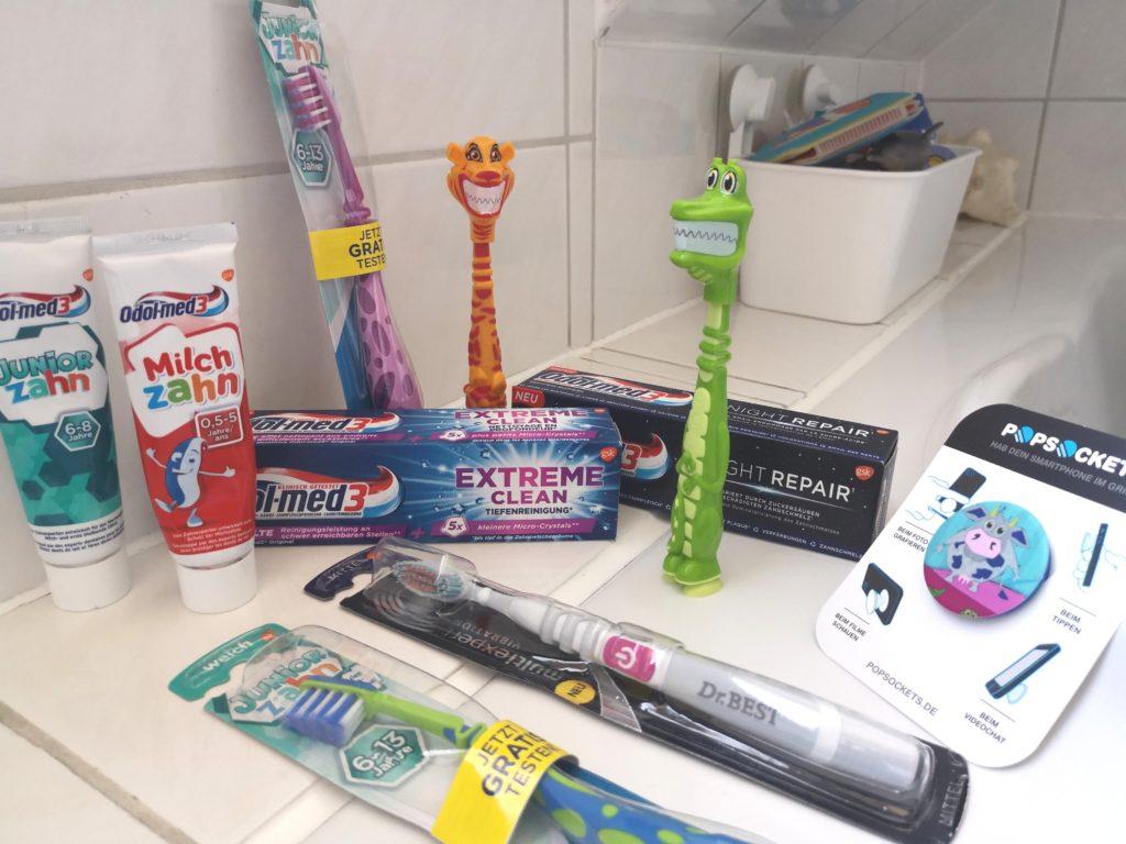 Große Zahnpflege Pakete von Odol-med3 und Dr.BEST zu gewinnen