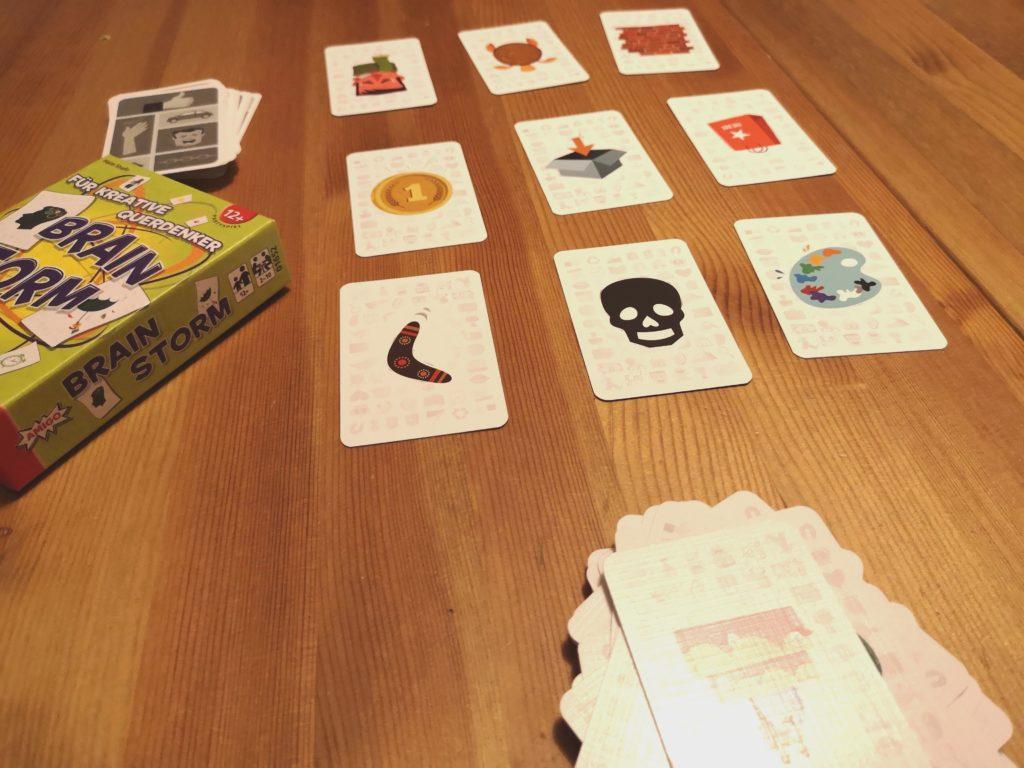 Bei Braiin Storm von AMIGO Spiele ist Kreativität gefragt