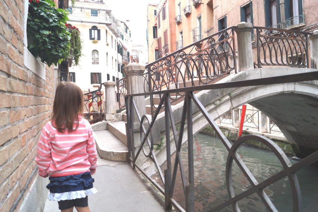 Mit Kindern in Venedig