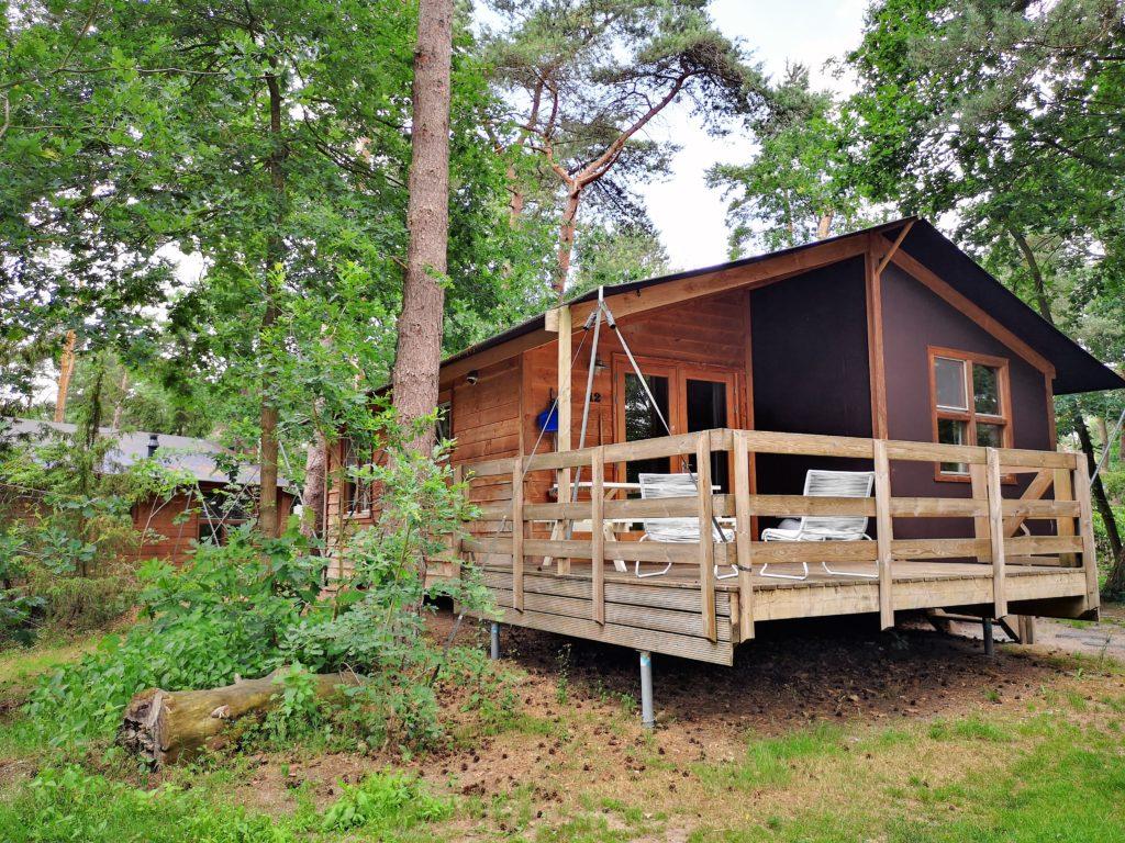 Die Youpi! Lodges auf dem Beerze Bulten Campingplatz