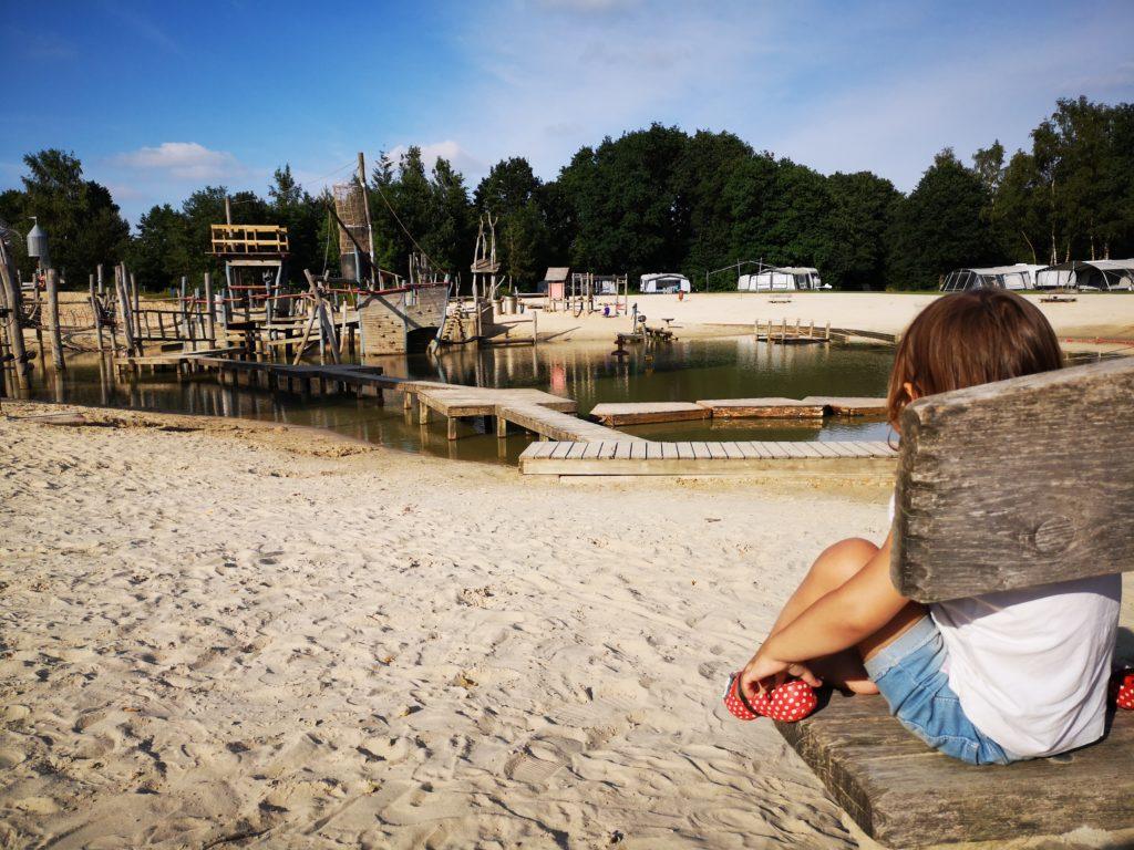 Ein absoluter Kindertraum ist der Giga Konijnenveld Spielplatz auf dem Beerze Bulten Campingplatz