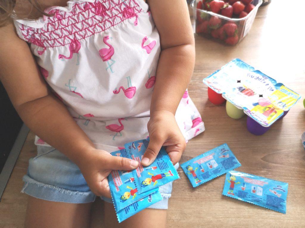 Viele verschiedene Stäbchen zur Auswahl für das FruchtZwerge-Selbstmach-Eis