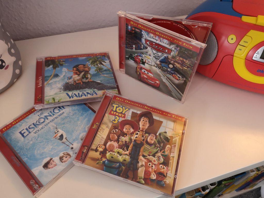 Hörspiele für Kinder: Disney Filme zum Hören