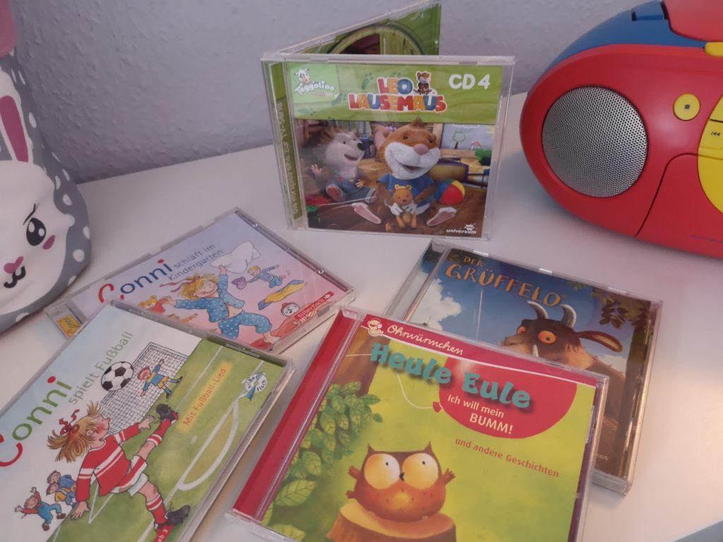 Hörspiele für Kinder: Conni, Heule Eule, Grüffelo und Leo Lausemaus