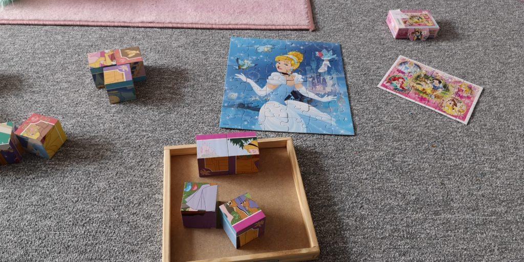 Prinzessin und Cinderella Puzzle