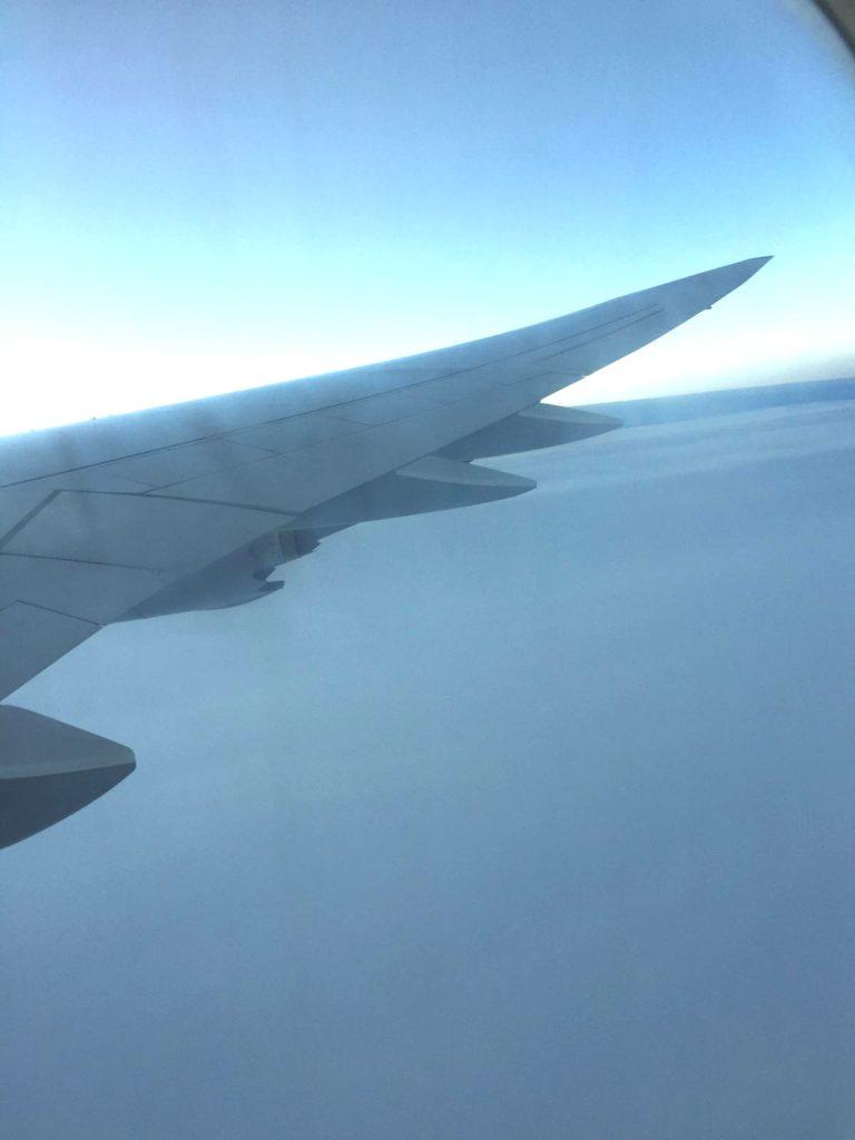 Irgendwo über dem Atlantik