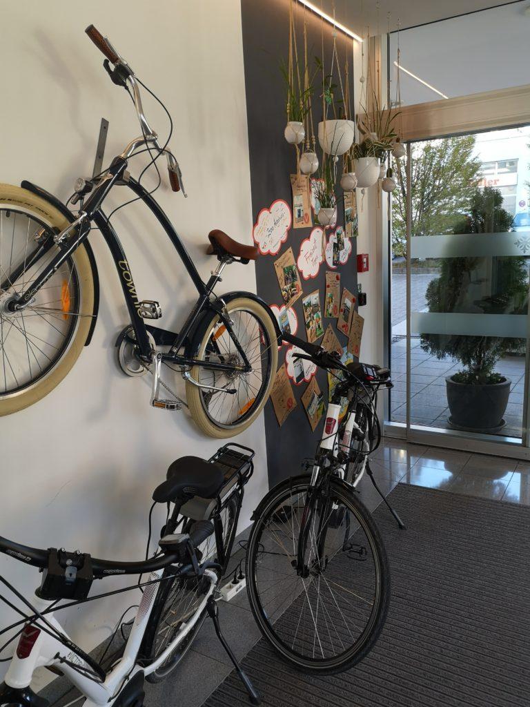 fahrräder zum kostenlosen ausleihen im vienna house easy