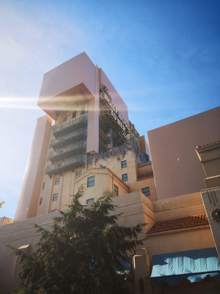 das hollywood tower of terrot hotel im disneyland paris