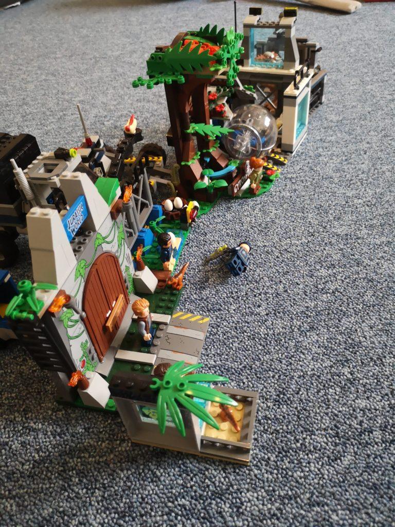 Wochenende in Bildern: Lego Spielspaß mit den Jurassic World Sets
