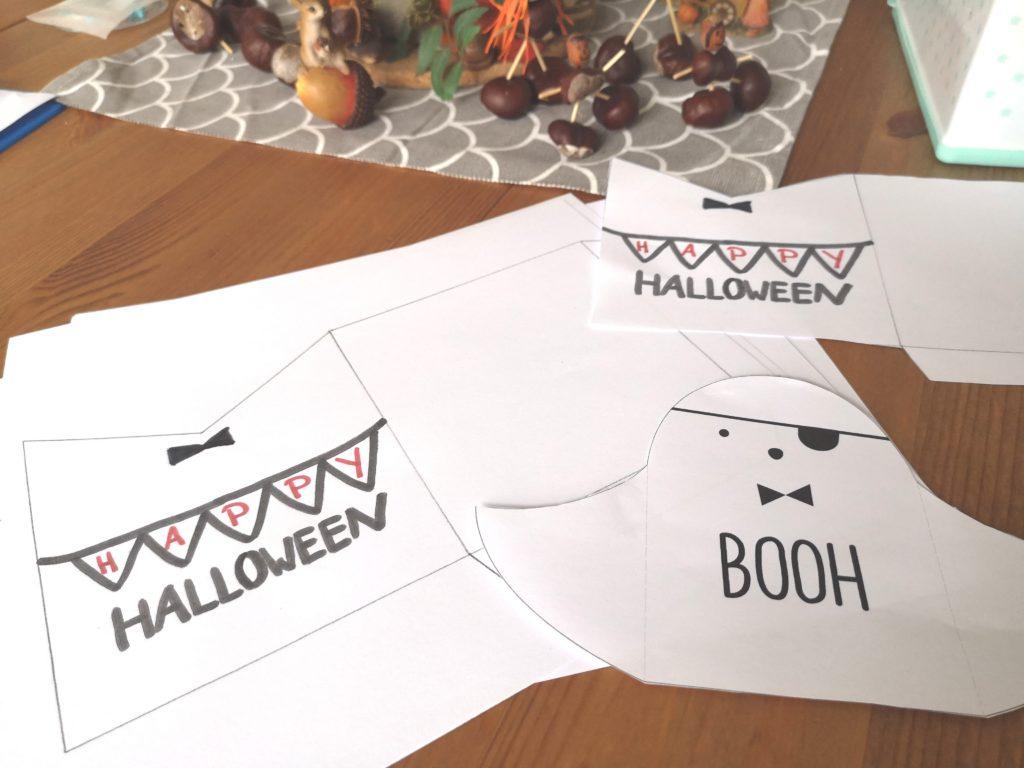 Wochenende in Bildern: Halloween Geister Einladungen