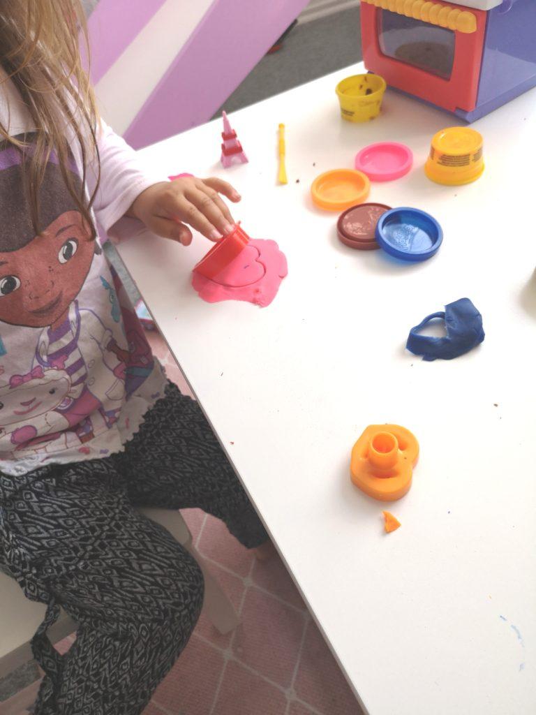Wochenende in Bildern: Play-Doh Knetspaß