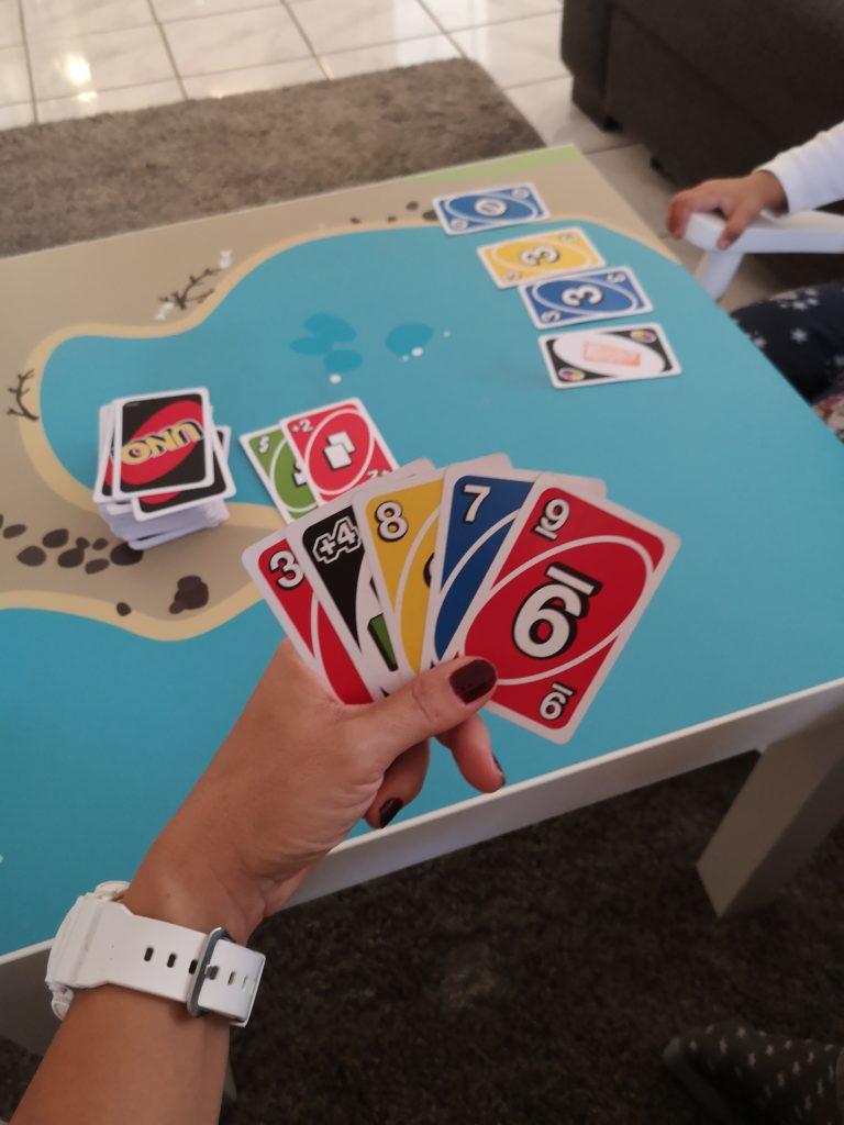 Wochenende in Bildern: Uno spielen