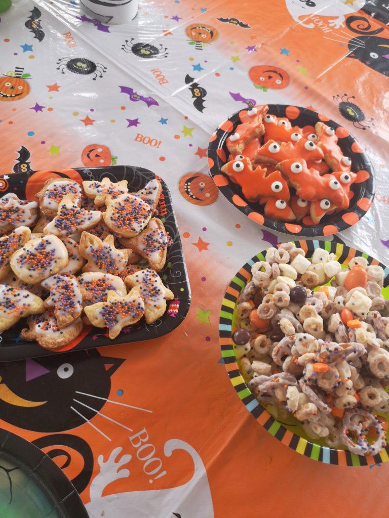 Kids Food: Halloween Kekse