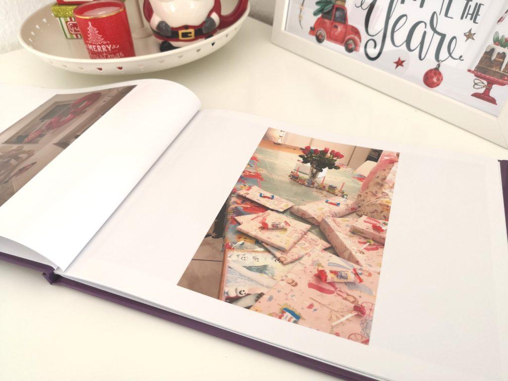 Geschenkidee zu Weihnachten: Fotobuch von sendmoments