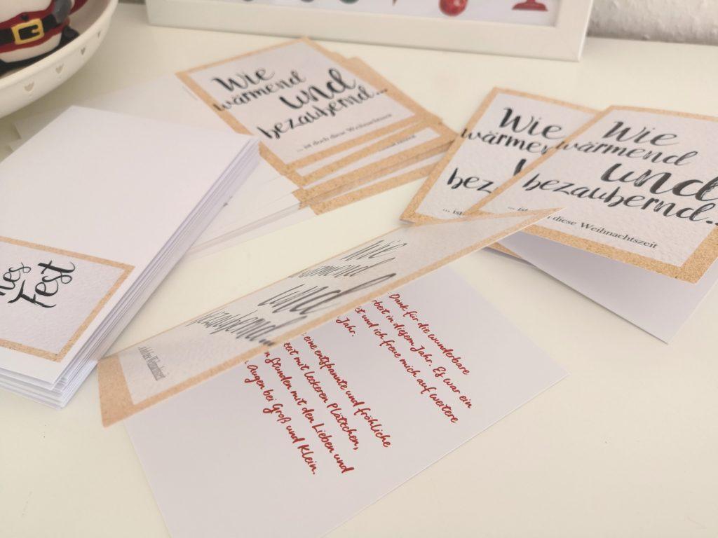 weihnachtskarten gestalten bei sendmoments.de