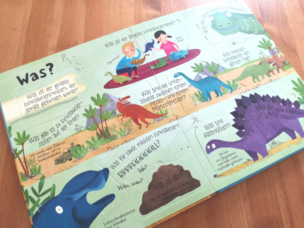 Tolles Buch für Dino Fans: Hatten Dinosaurier Ohren? vom