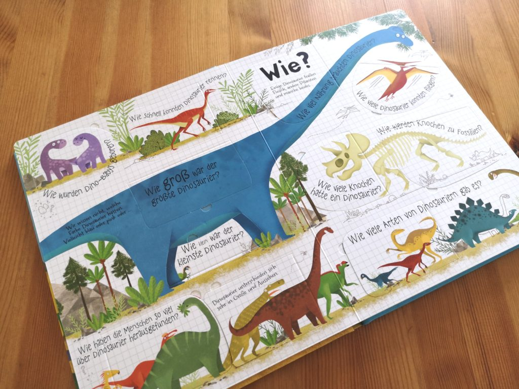 Usborne Verlag: Hatten Dinosaurier Ohren?