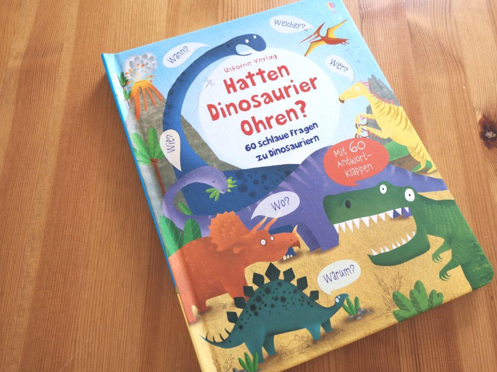 Hatten Dinosaurier Ohren? vom Usborne Verlag