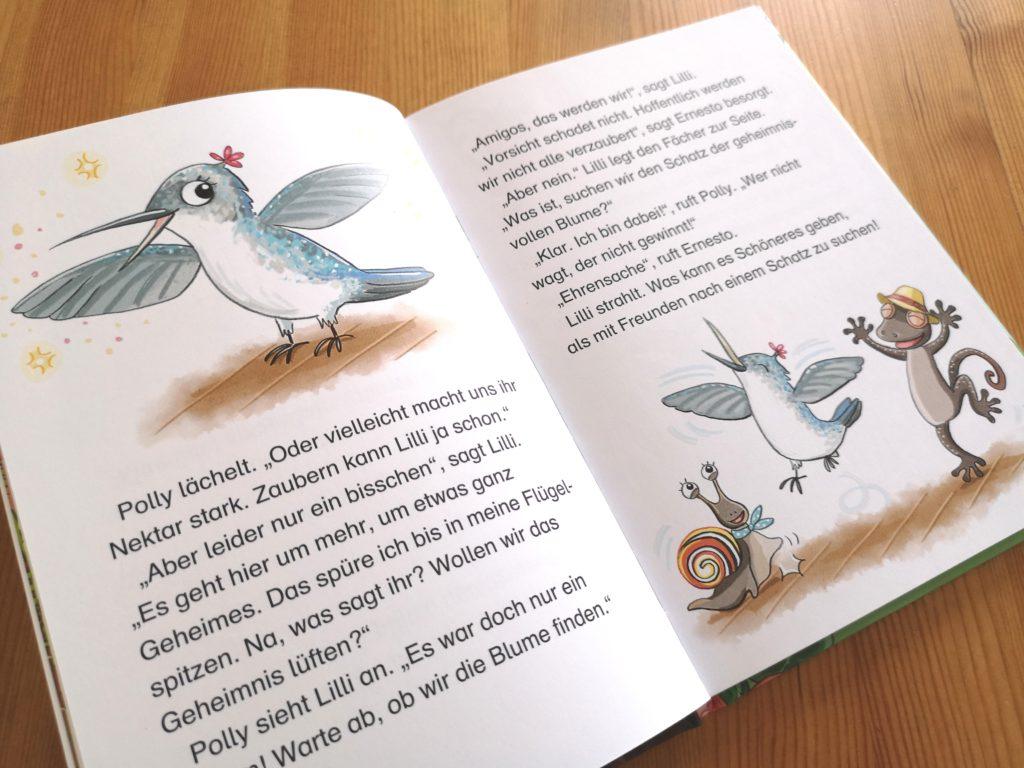 Loewe Verlag: Lilli Kolibri - Die geheimnisvolle Zauberblume