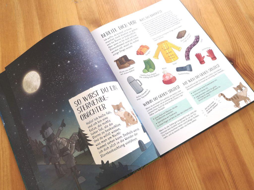 Astronomie kinderleicht: Mit Feli durch die Nacht vom Laurence King Verlag