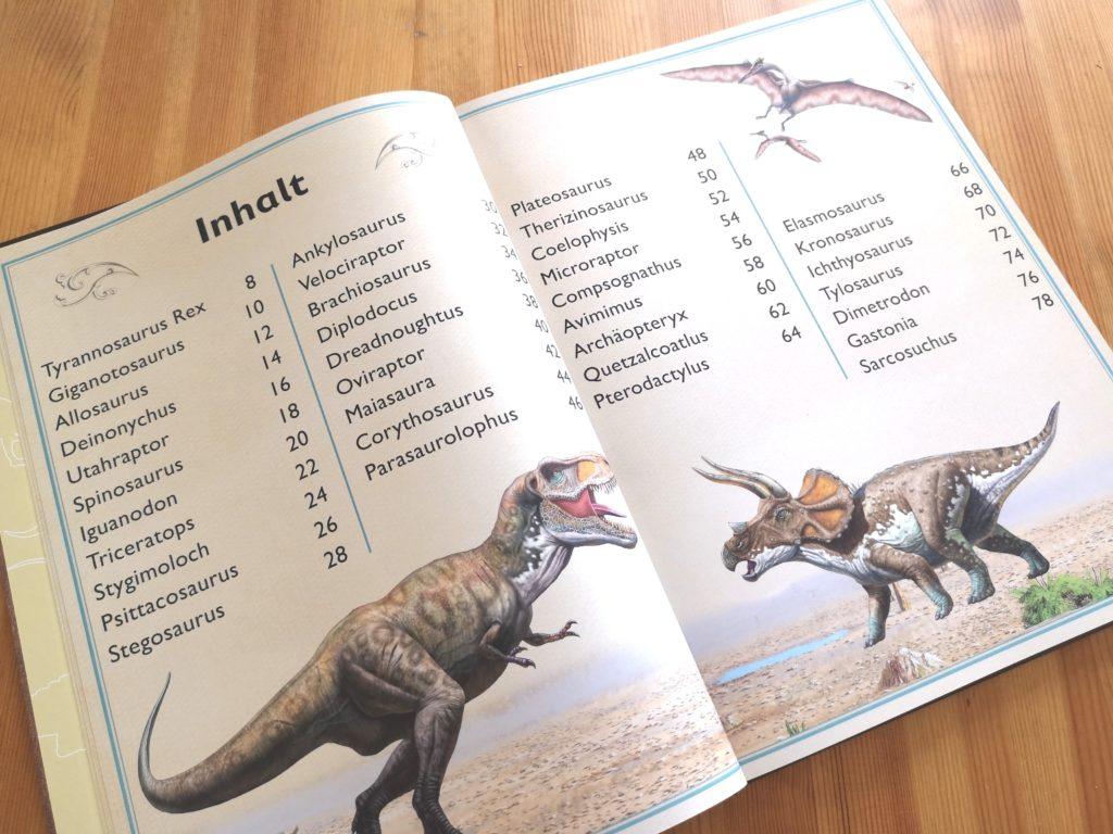 moses Verlag: Das Riesenbuch der Dinosaurier