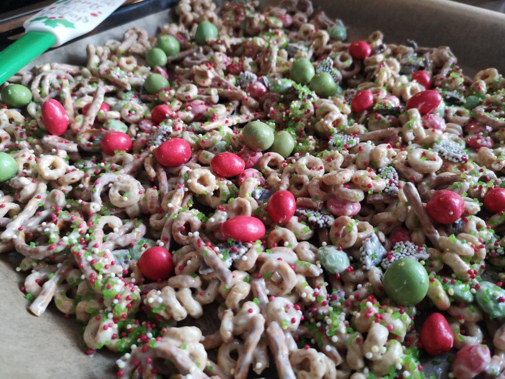 christmas crunch ist die perfekte last minute geschenkidee aus der küche